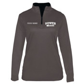 PEZIP - Adult Heavy Blend™ Full-Zip Hooded Sweatshirt - 4103 B-Core Ladies 1/4 Zip