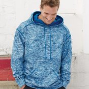 1463 Adult Blend Polyester Fleece Performance Hooded Pullover