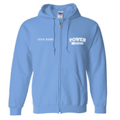 PEZIP - Adult Heavy Blend™ Full-Zip Hooded Sweatshirt - 18600 Adult Heavy Blend™ Full-Zip Hooded Sweatshirt