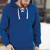 8830 Adult Sport Lace Hooded Sweatshirt