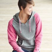 8926 Ladies' Zen Fleece Raglan Sleeve Hooded Sweatshirt