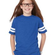 6137 Youth Vintage Football T-Shirt