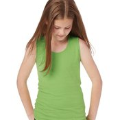 2690 Girls' Fine Jersey Tank Top