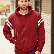 8847 Adult Vintage Athletic Hooded Sweatshirt