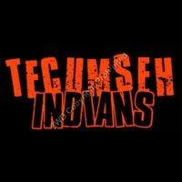 254 Tecumseh Indians Splatter Distressed Thumbnail